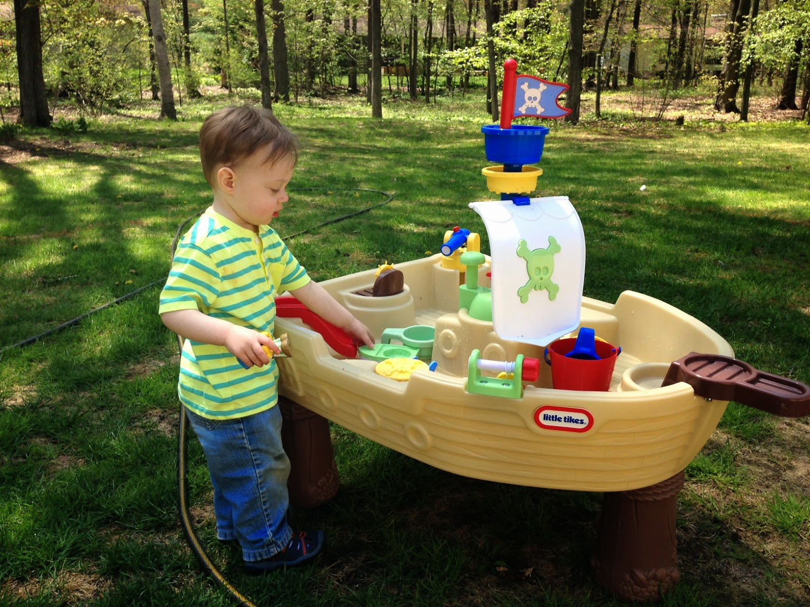 Image of: anchors away pirate water table
