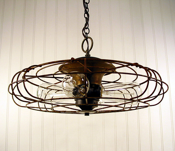 Image of: antique kitchen lighting fixtures