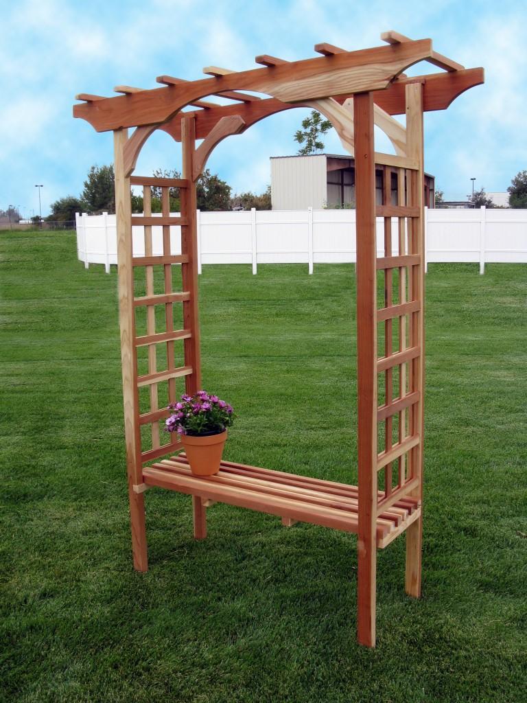 arbor bench designs