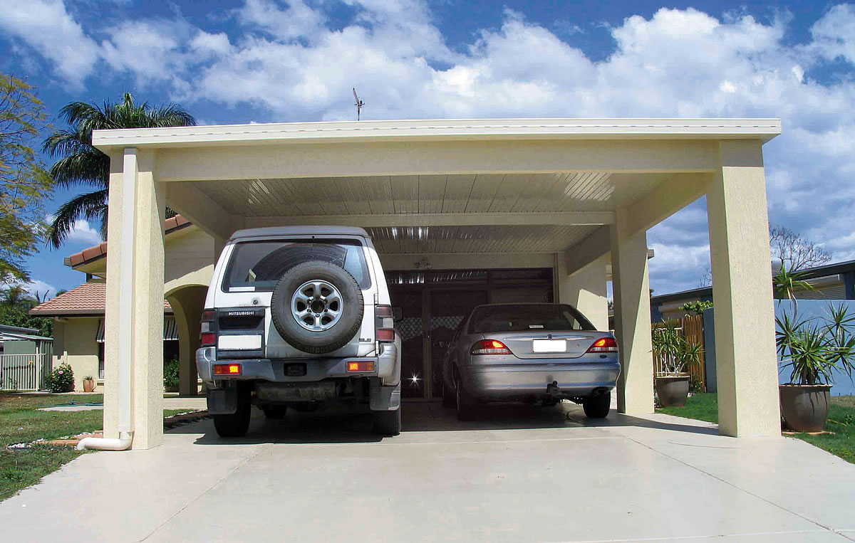 Image of: arbor carport designs