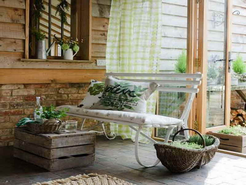 Image of: back porch decorating ideas