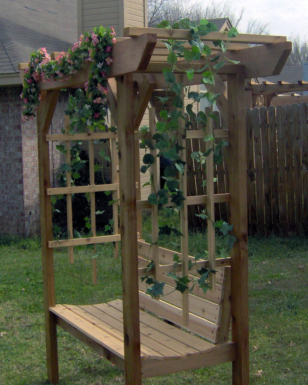 build arbor bench