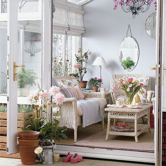 Image of: bungalow porch decorating ideas