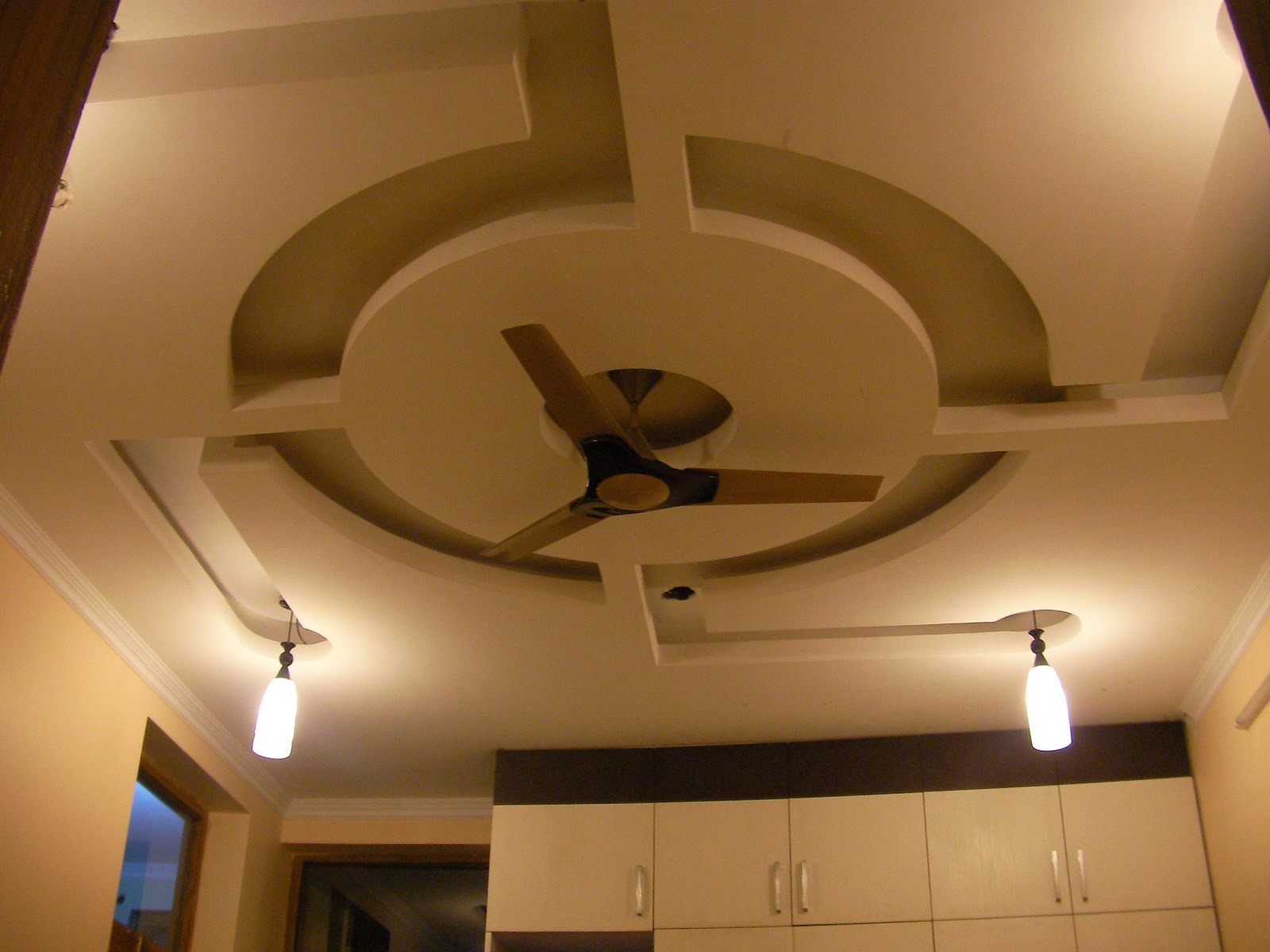 Image of: ceiling art designs