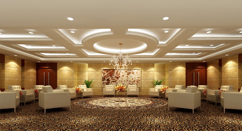 Image of: ceiling designs banquet halls