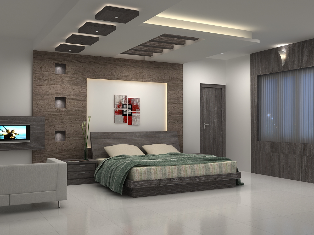 Image of: ceiling designs bedroom