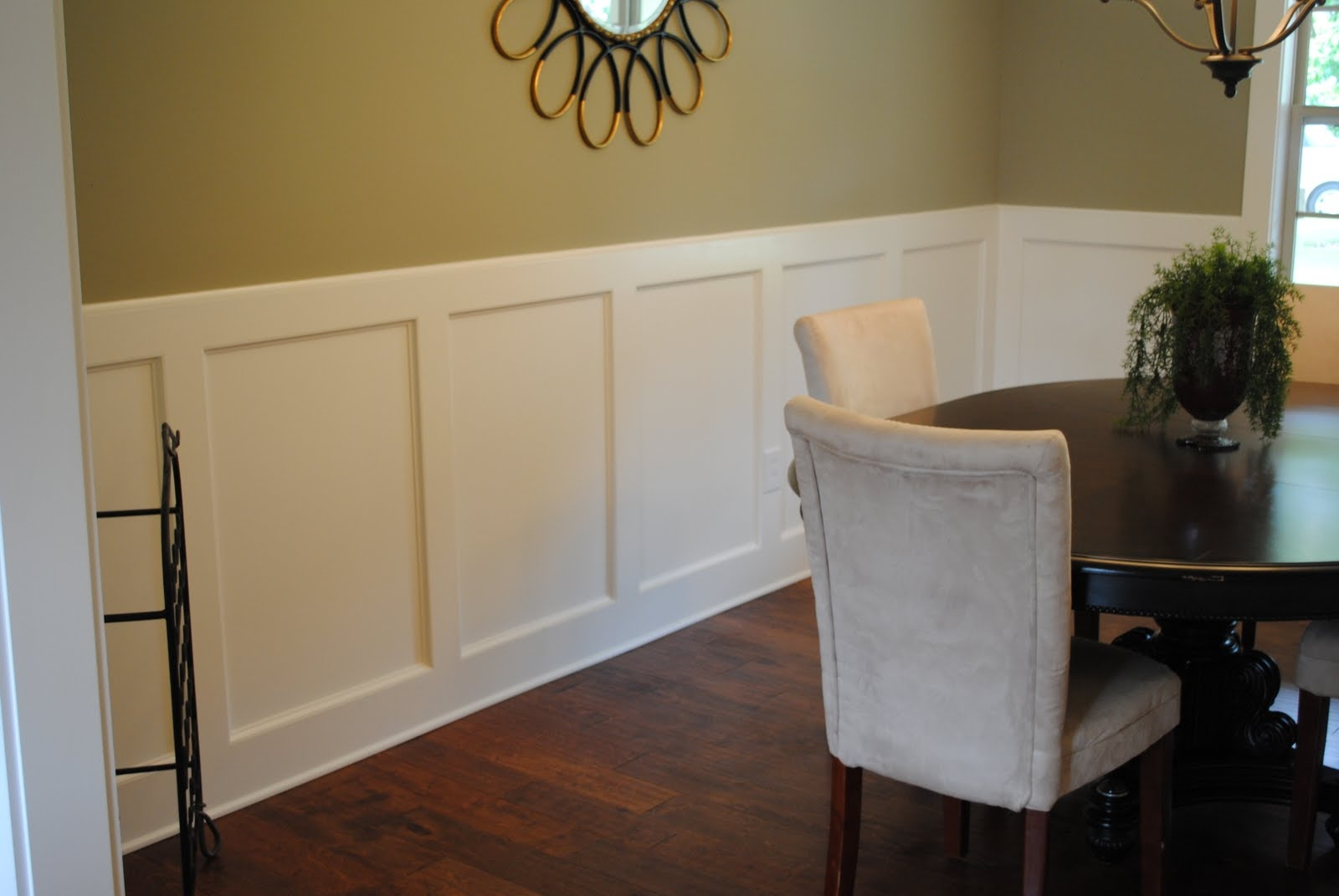 Image of: chair rail ideas dining room