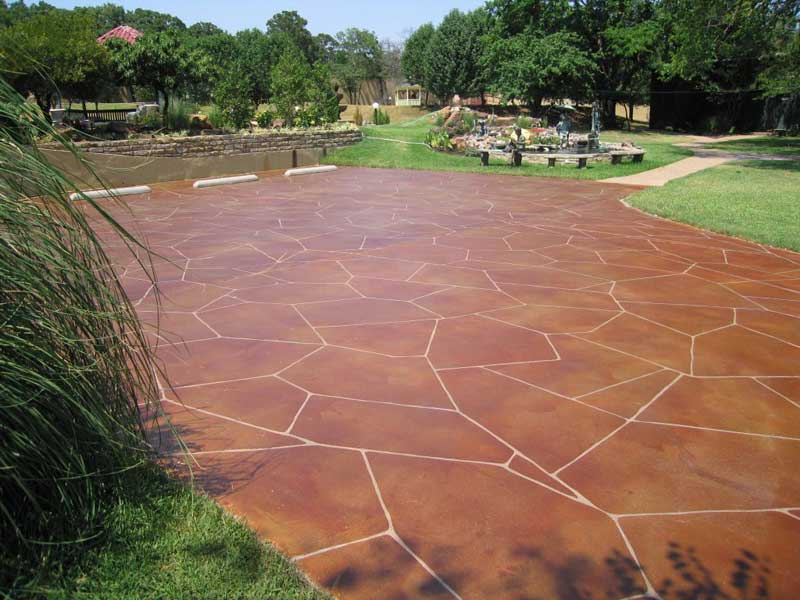 Image of: cool decorative concrete ideas