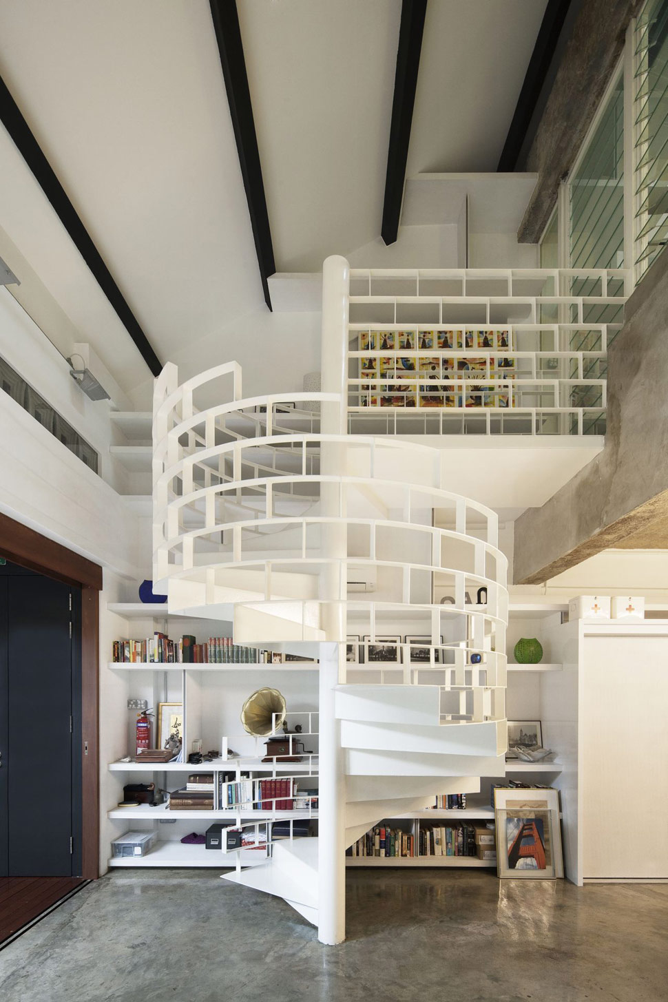 Image of: cool loft design ideas