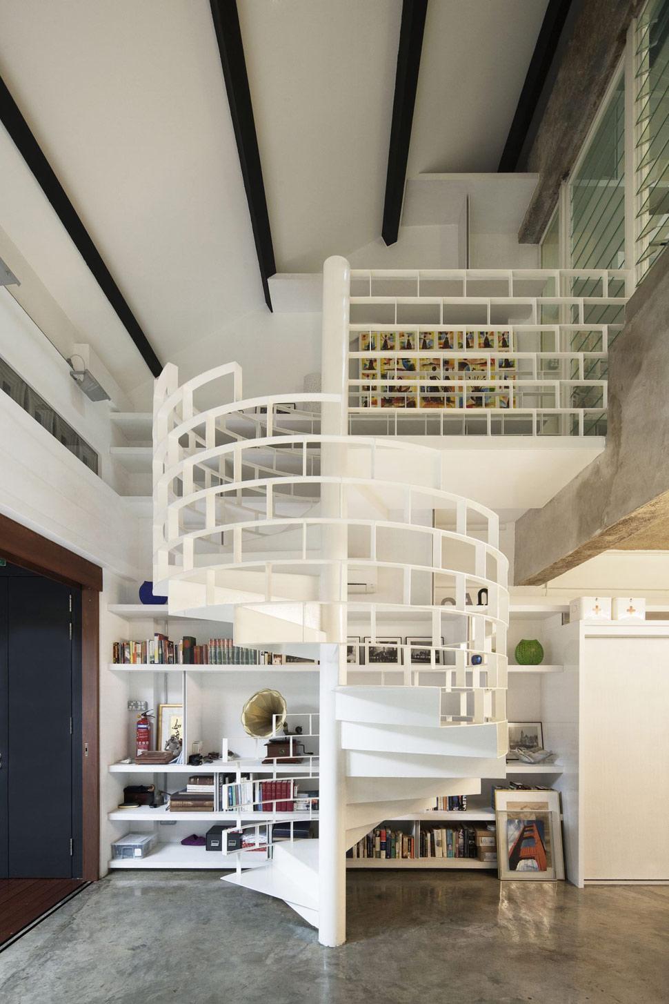 cool loft design ideas