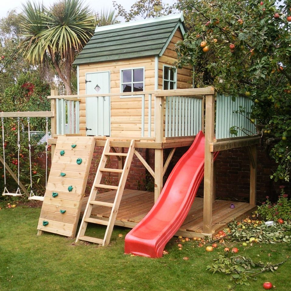 Image of: cool playhouse designs