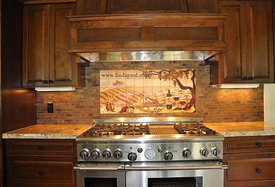 Image of: country kitchen backsplash ideas