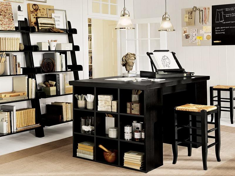 Image of: craft desk organization ideas