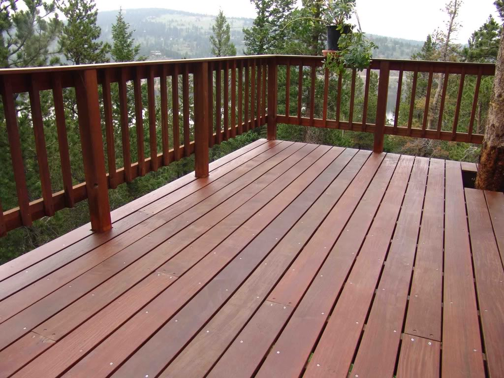 Image of: deck and porch railing designs