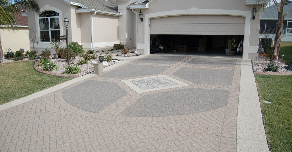 Image of: decorative concrete ideas