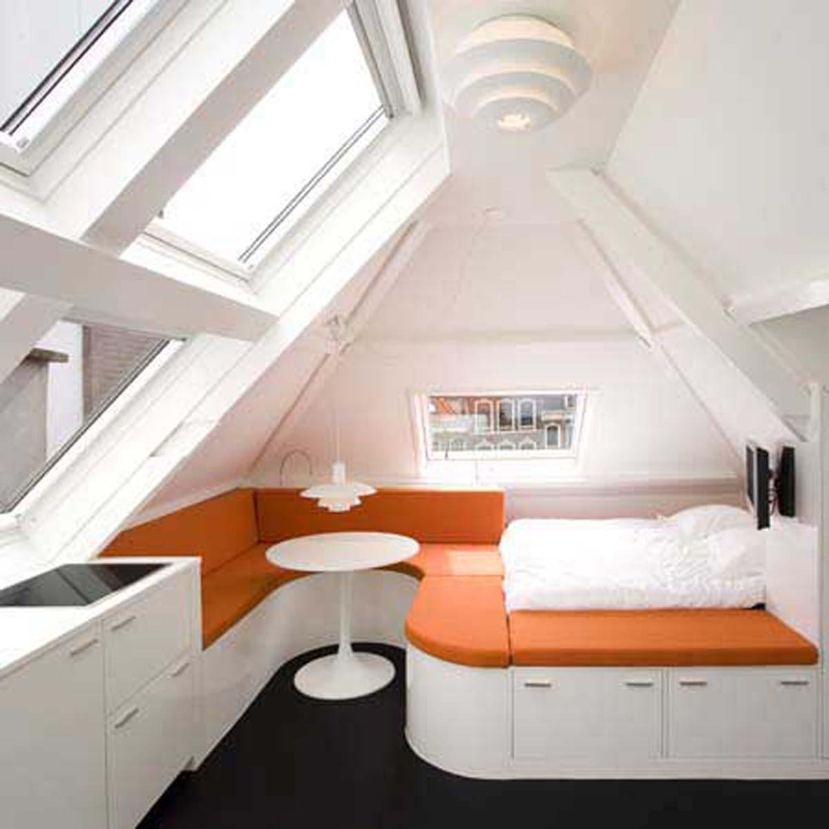design ideas for loft bedrooms