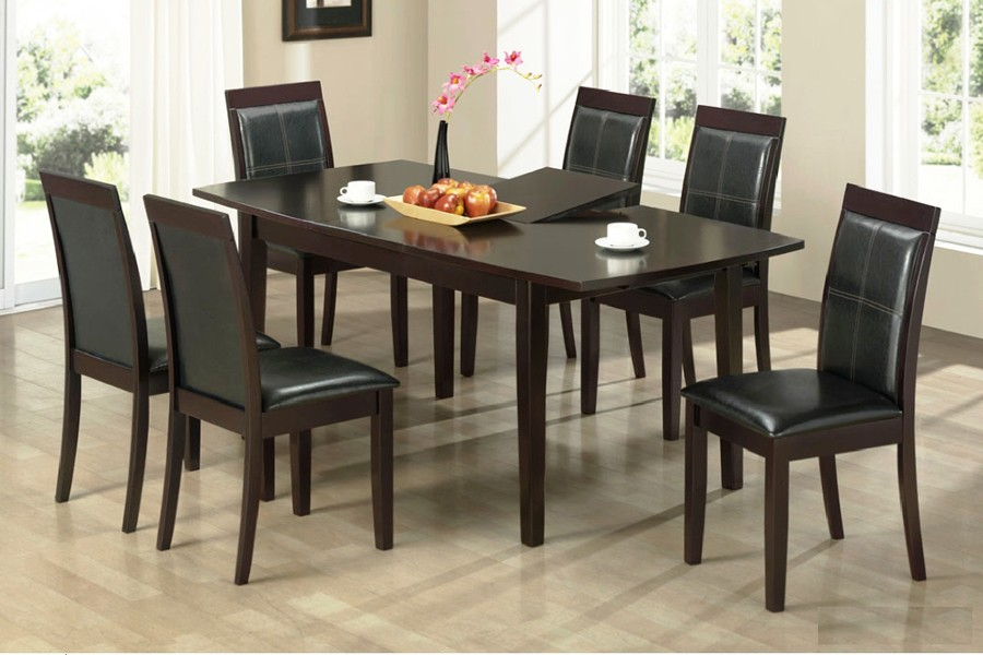 Image of: dining room table with butterfly leaf