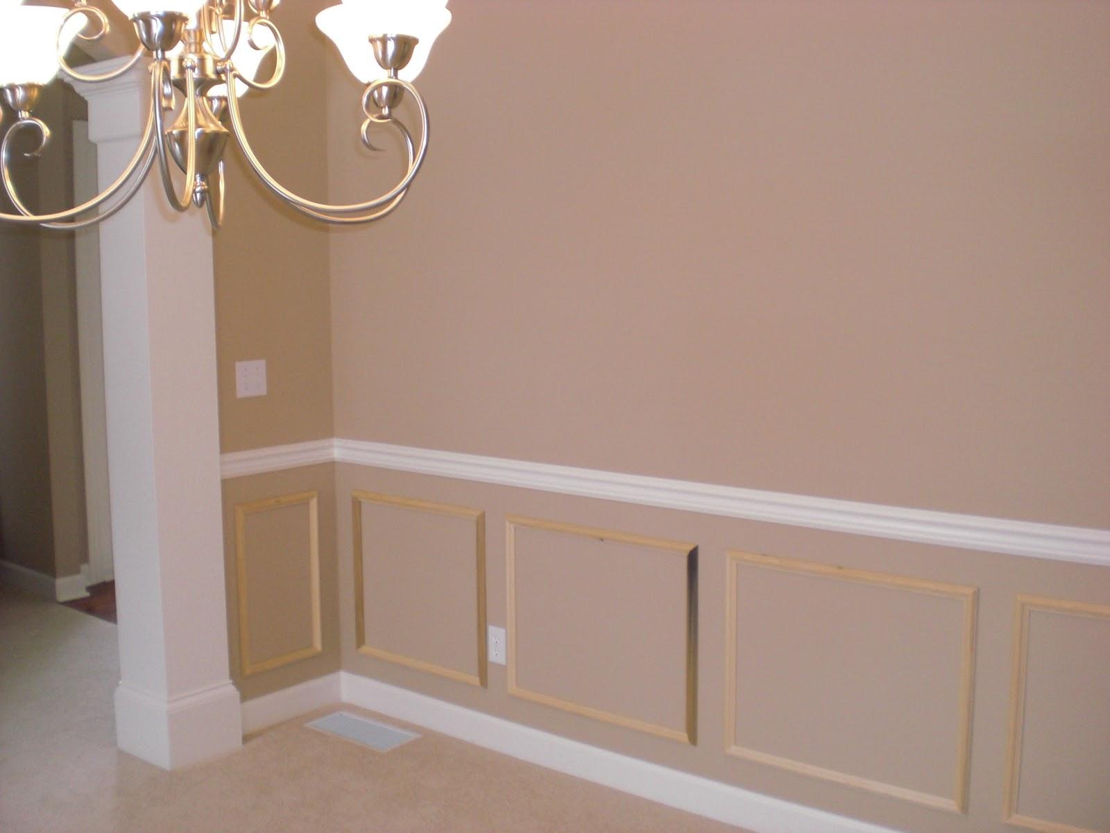 Image of: diy chair rail designs