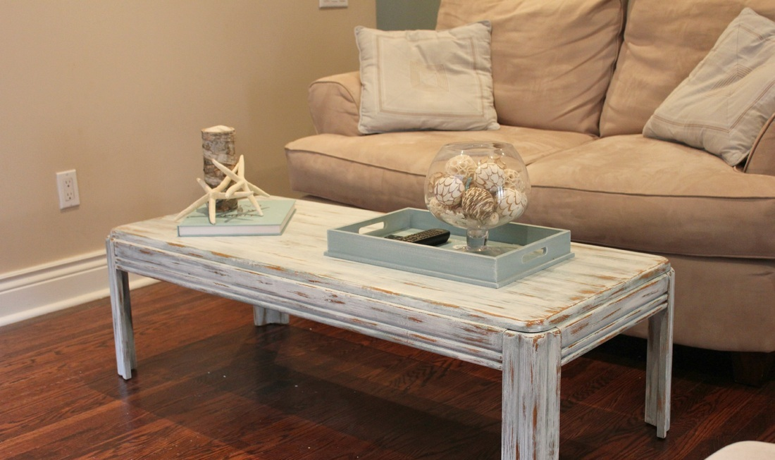 Image of: driftwood side table