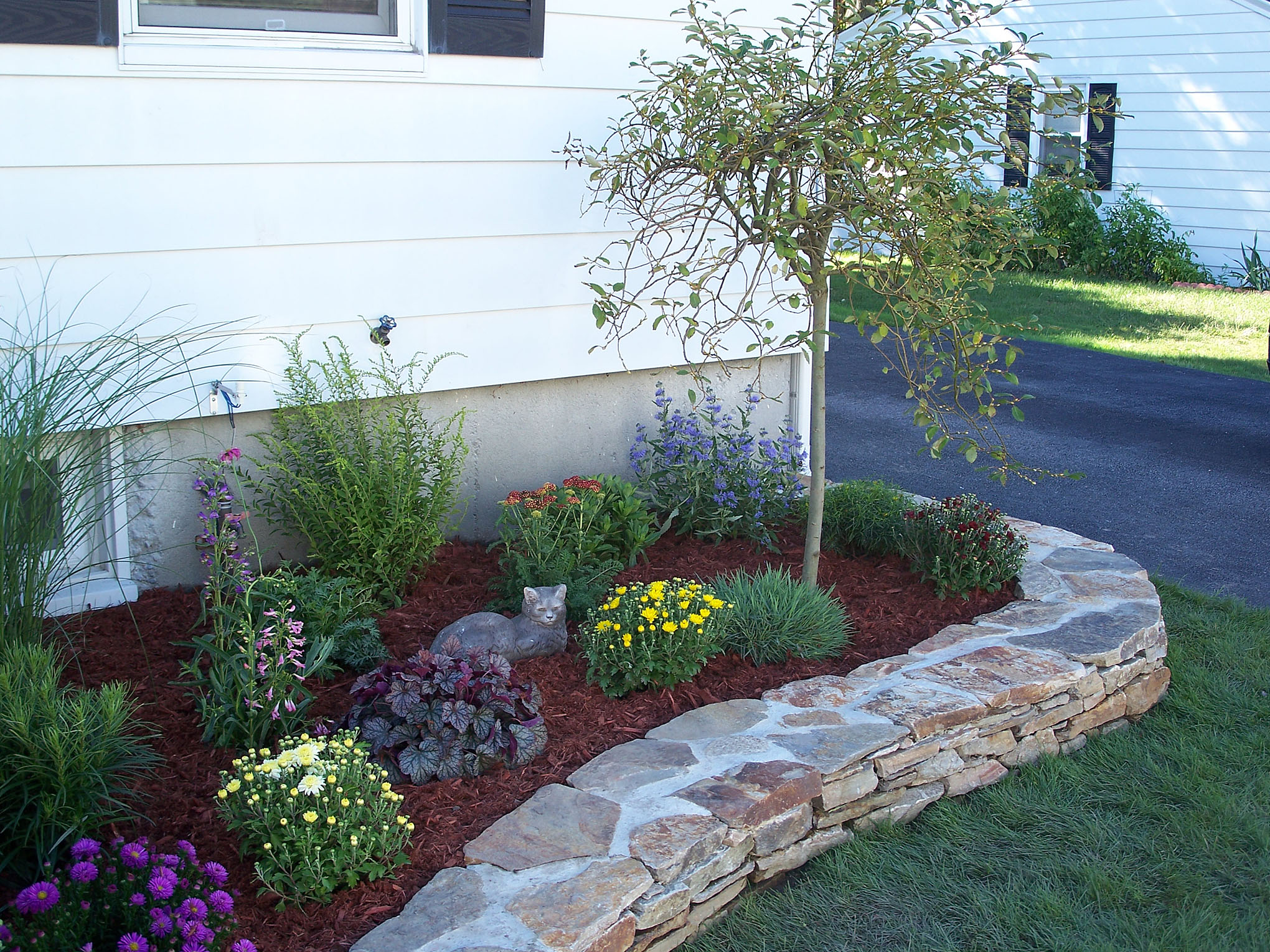 Image of: flower bed ideas and designs