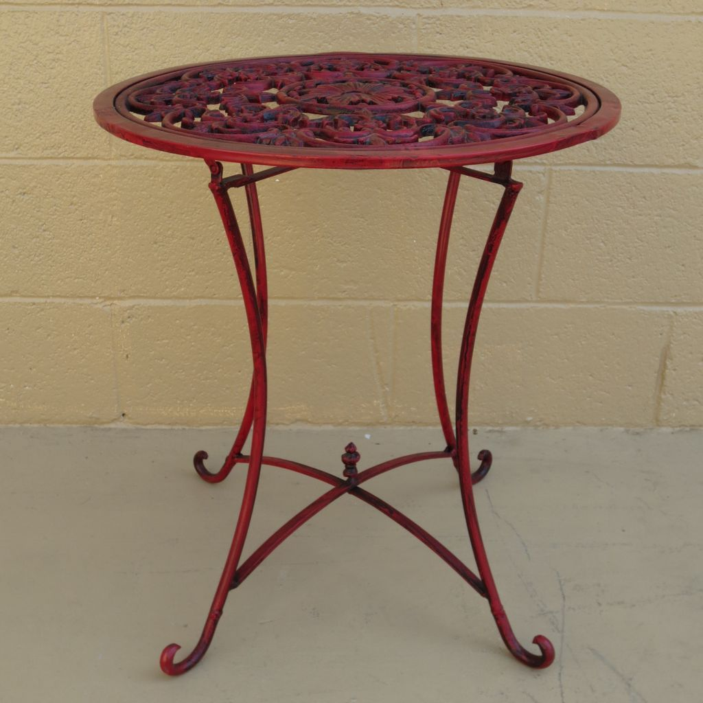Image of: french bistro tables