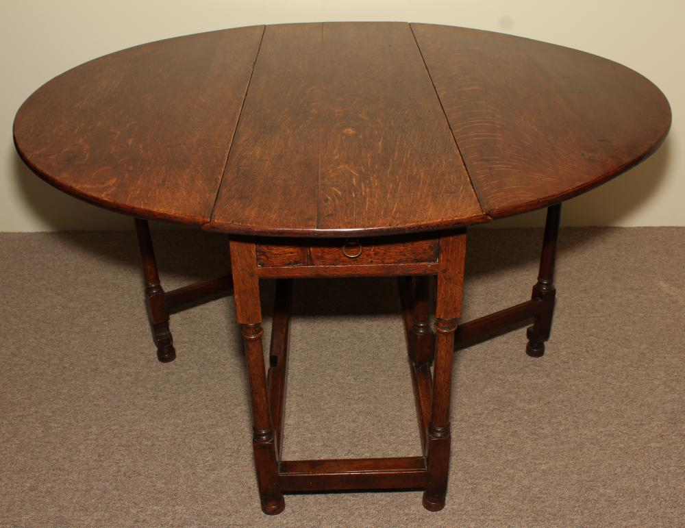 Image of: gate leg drop leaf table