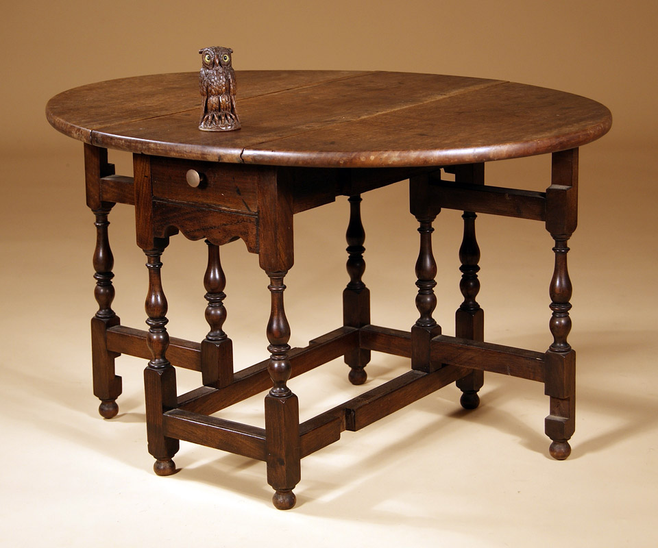 Image of: gate legged table