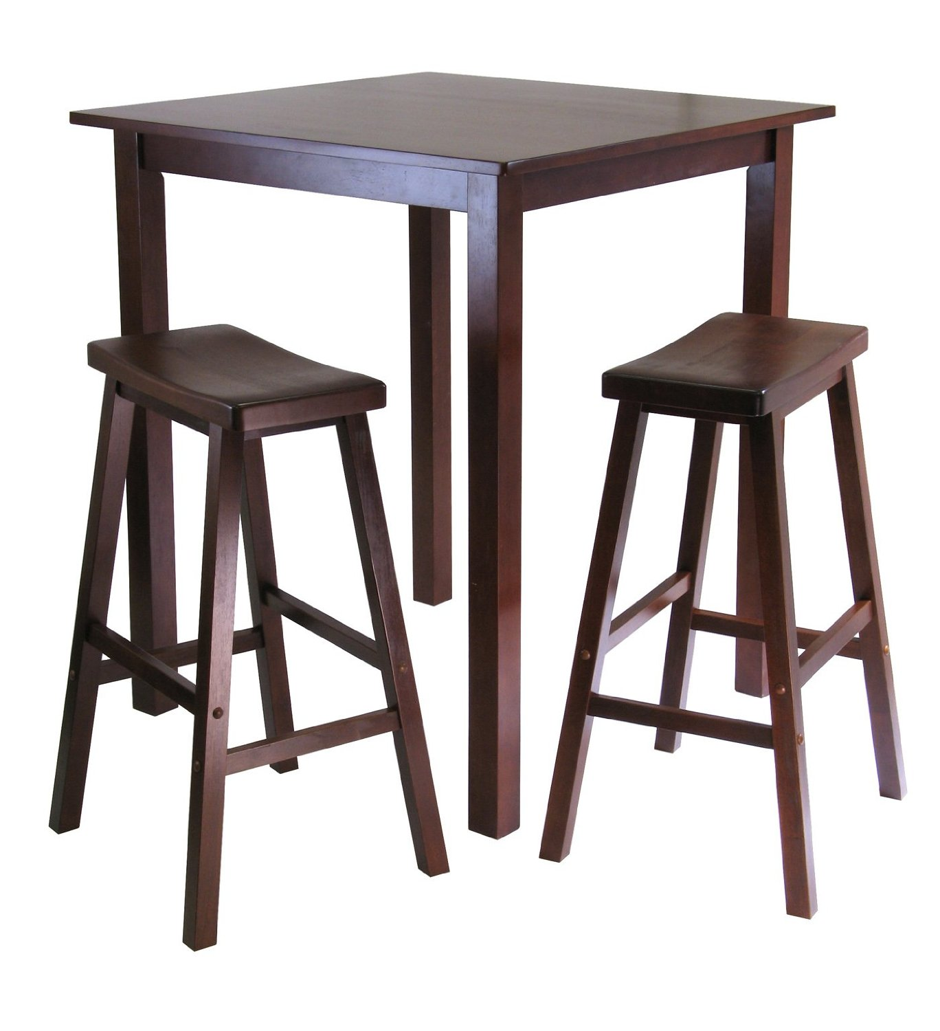 Image of: high kitchen table and stools