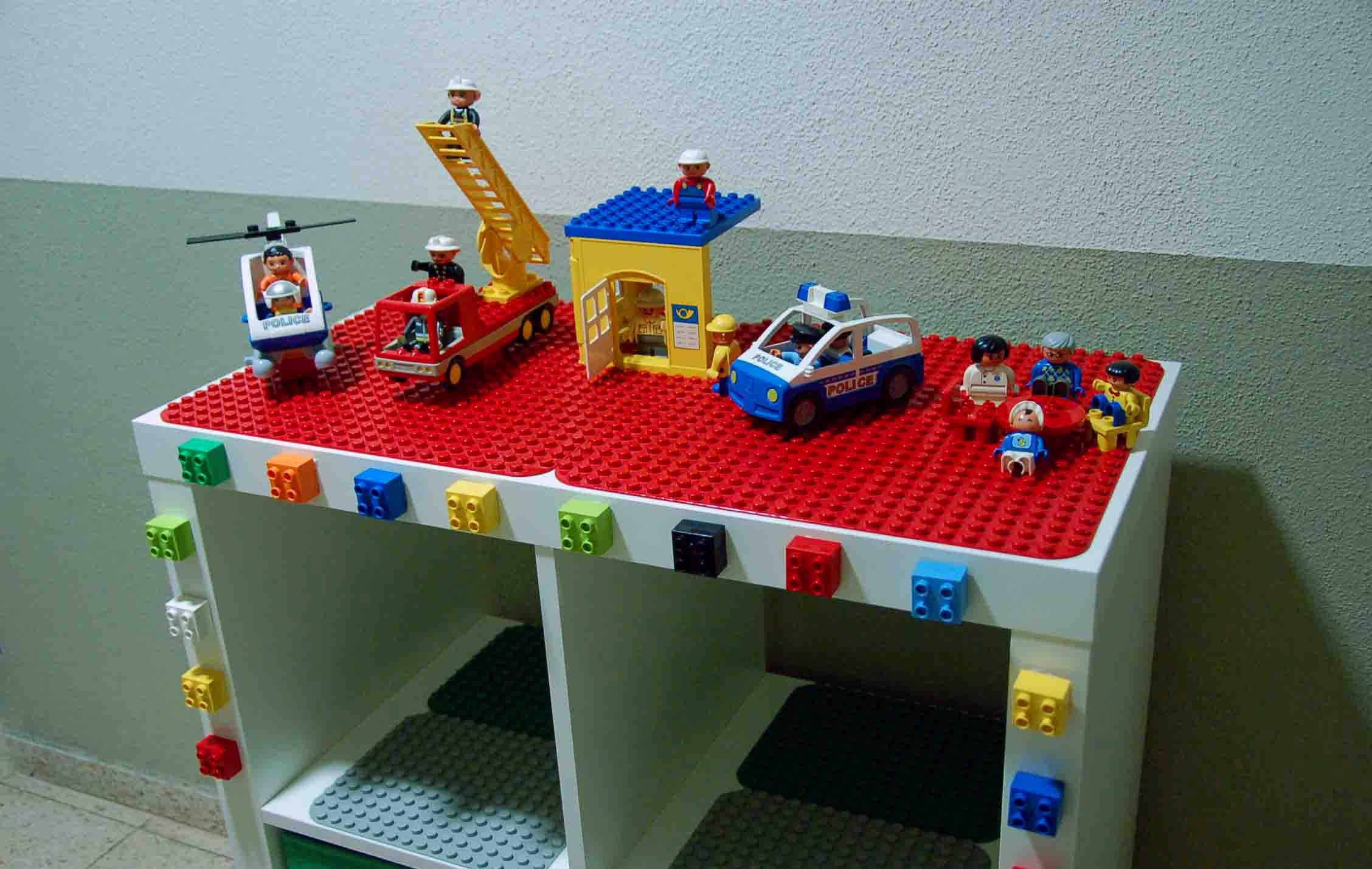 homemade duplo table