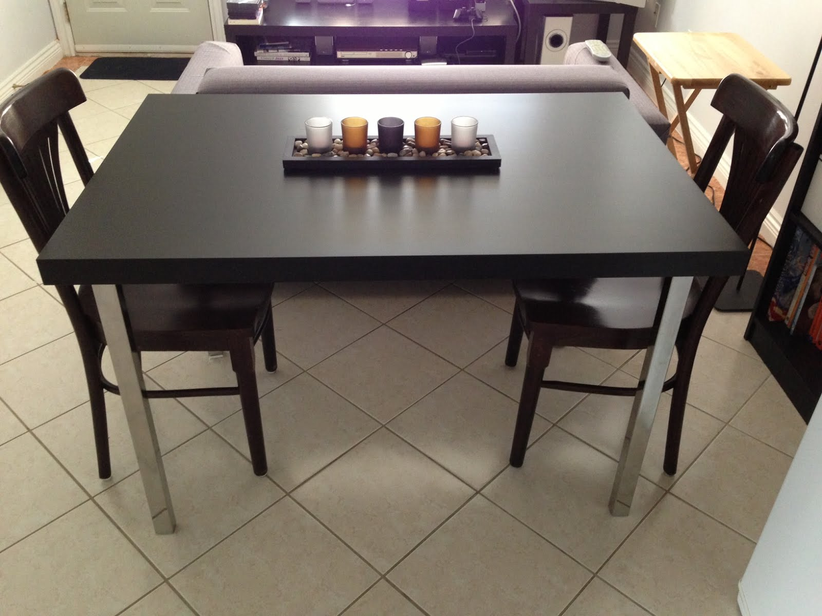 Image of: ikea norden table ideas