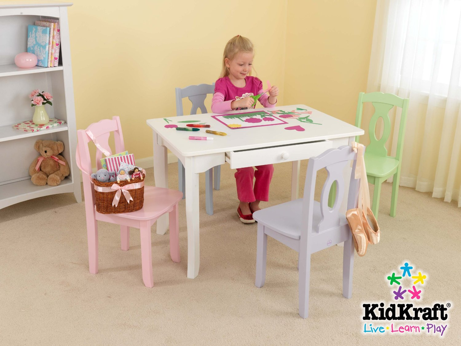 Image of: kidkraft brighton table and chair set