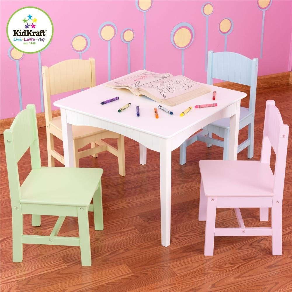 Image of: kidkraft table and chairs