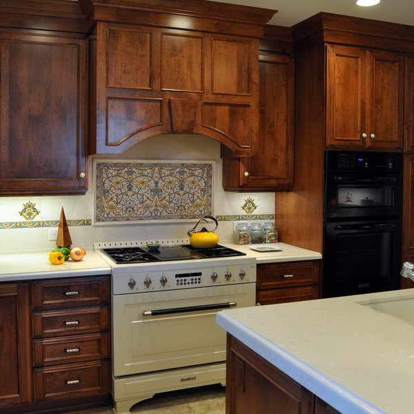 kitchen backsplash ideas above stove