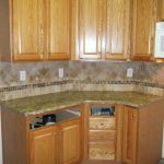 kitchen backsplash ideas with santa cecilia granite