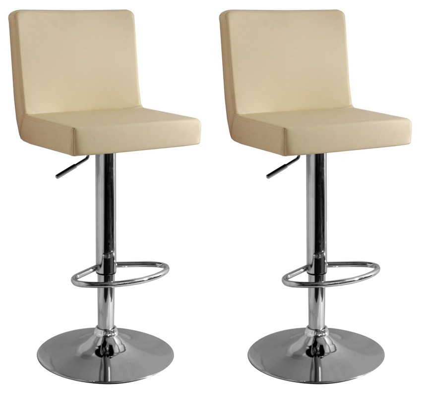 Image of: kitchen bar stools cream