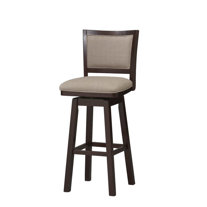 Image of: kitchen bar stools with backs