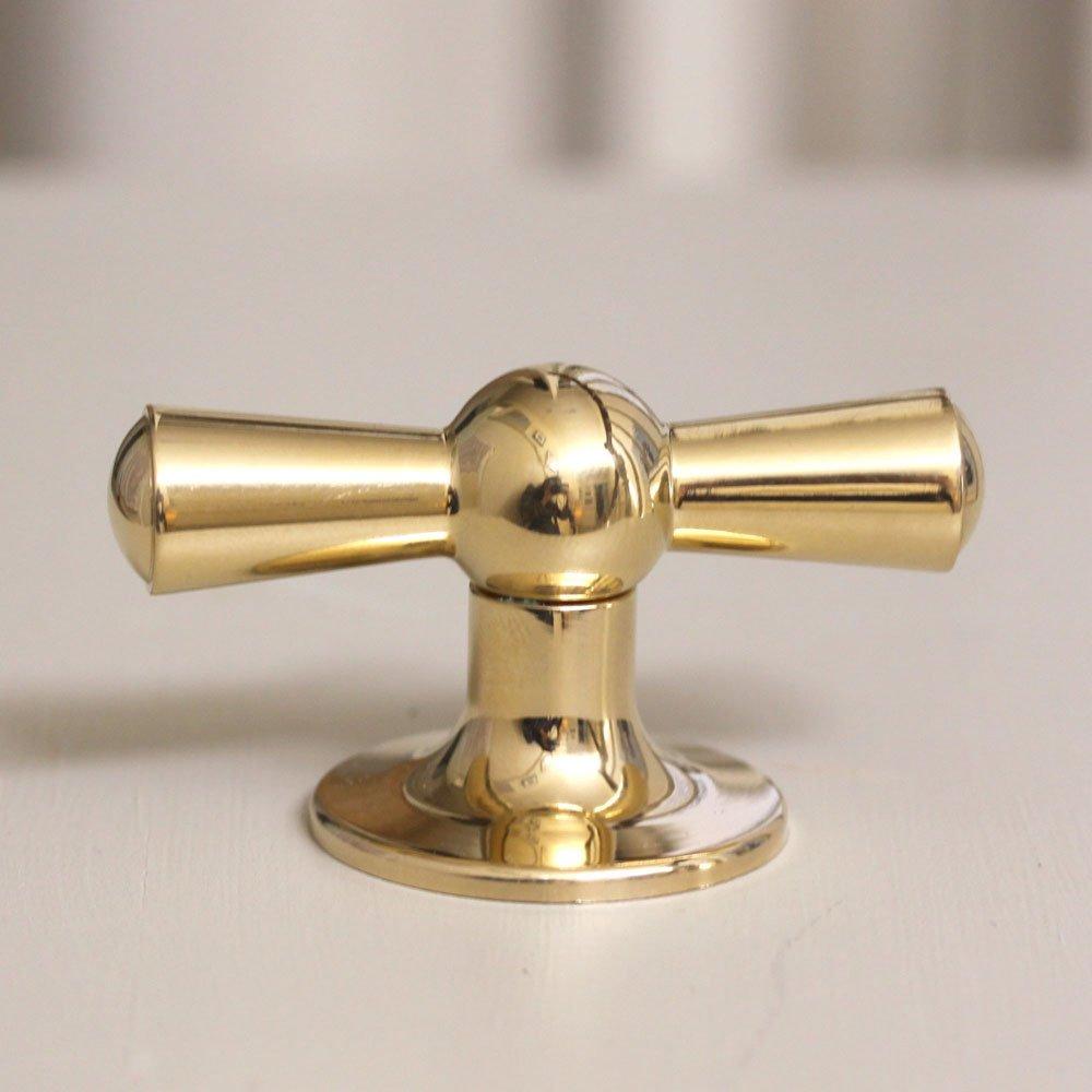 kitchen brass knobs