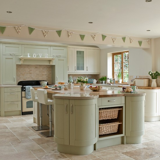 Image of: kitchen decor ideas sage green