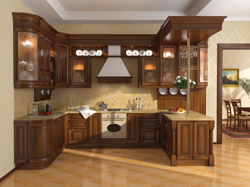 Image of: kitchen design layout examples