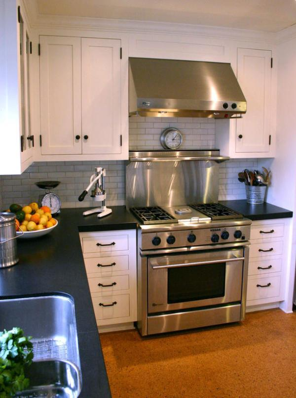 Image of: kitchen design layout ideas for small kitchens