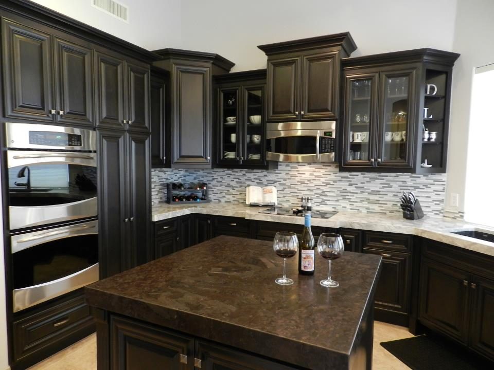 kitchen granite and marble