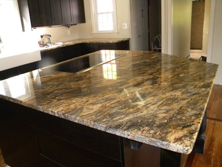 Image of: kitchen granite counter