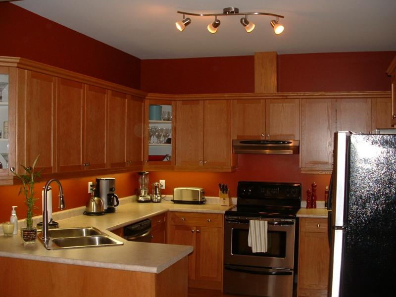 Image of: kitchen lighting fixtures low ceilings
