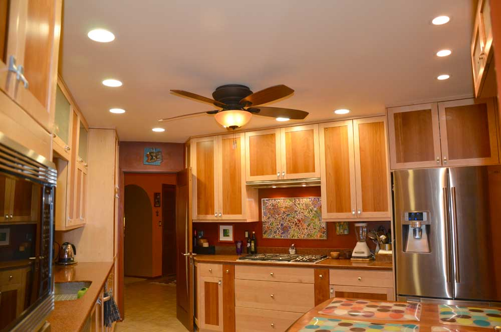kitchen lighting fixtures with fans