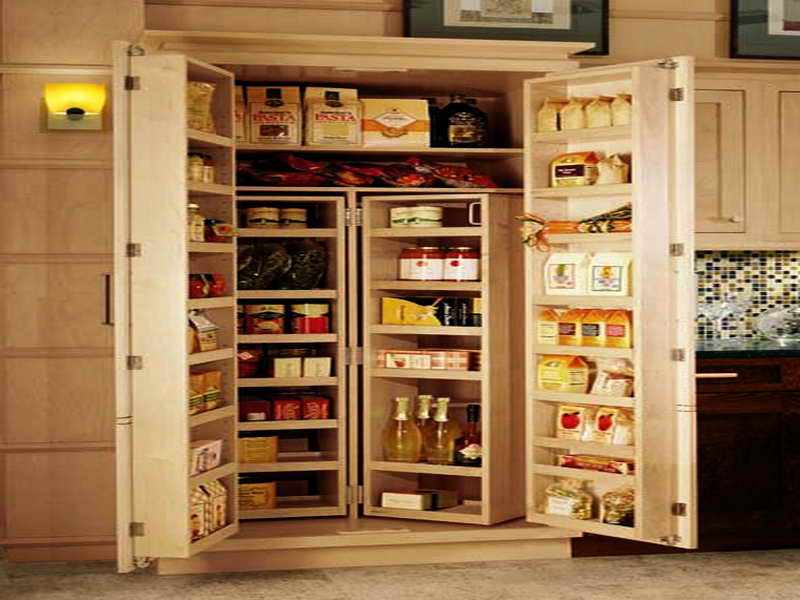 Image of: kitchen pantry and cabinets
