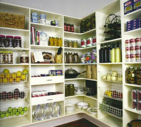 Image of: kitchen pantry cabinets home depot