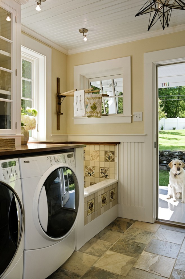 Image of: laundry room decor images