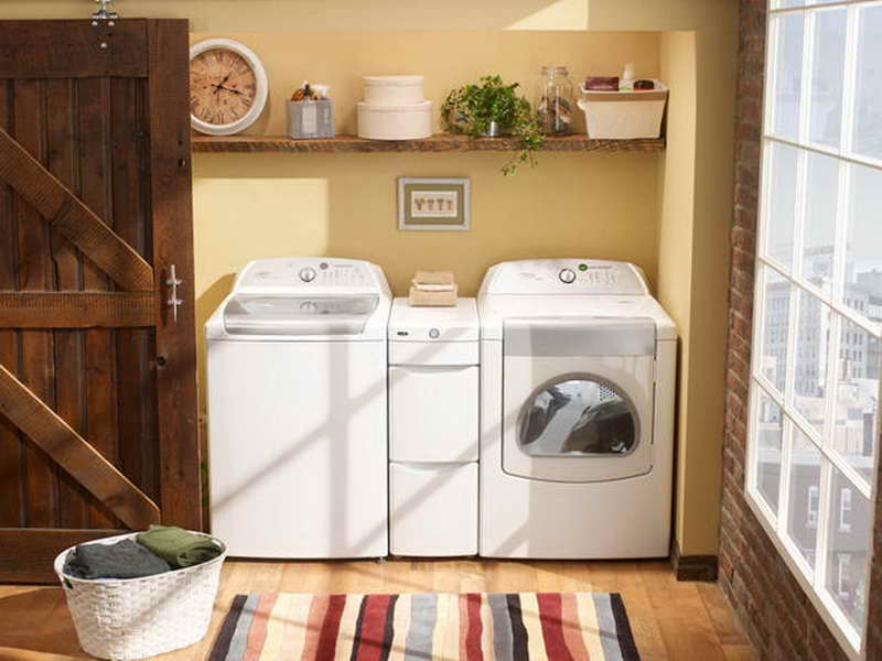Image of: laundry room decor pictures