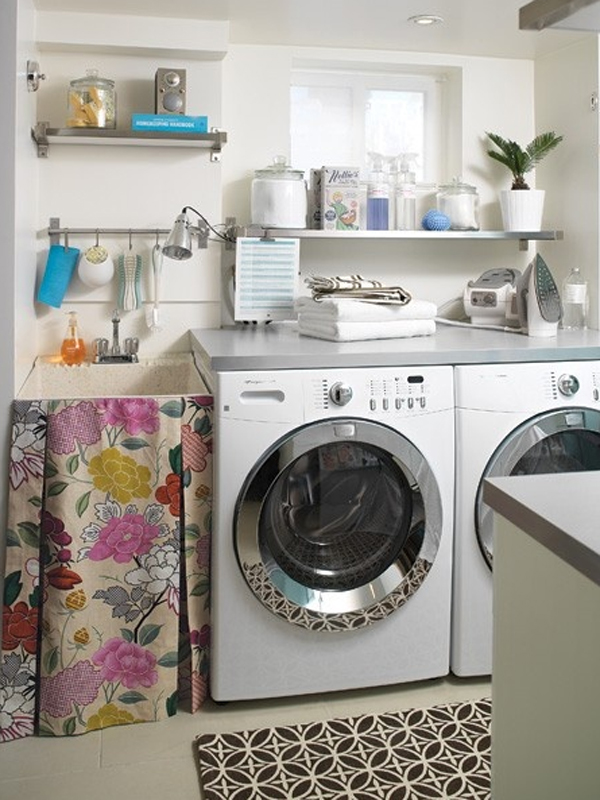 Image of: laundry room decorations for the wall