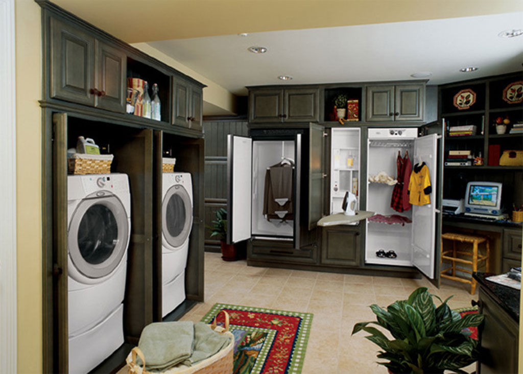 Image of: laundry room decorations vintage